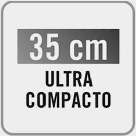 Las prestaciones de las grandes en solo 35 cm