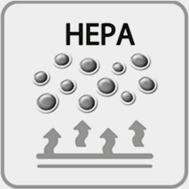 Filtro HEPA hipoalergénico