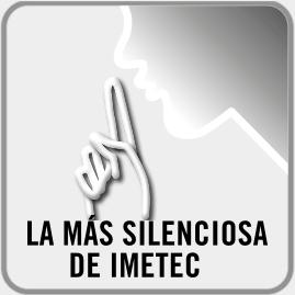 La más silenciosa de IMETEC <sup>4</sup>